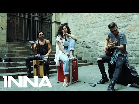 INNA - Take Me Higher (Live on the Street @ Barcelona)