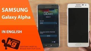 Samsung Galaxy Alpha Kutu Açılımı