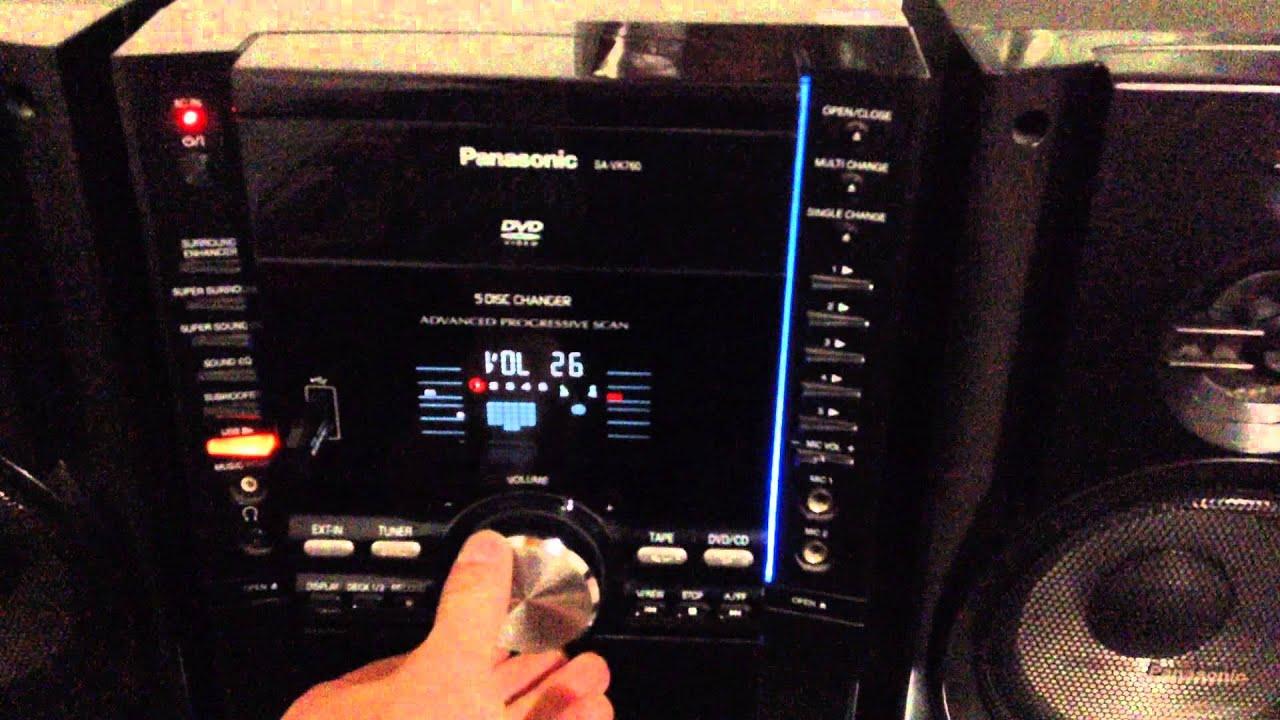 Panasonic sa-vk760 схема