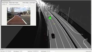 Autoware | Beyond Pixel Tracker + Fusion Moriyama with ground MapFiltering
