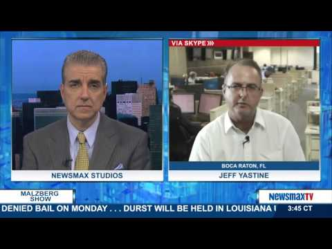 Malzberg /  Jeff Yastine - Newsmax's Editorial Director of Financial Newsletters