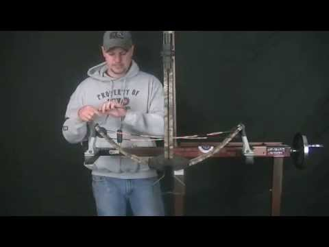 How to Change a Crossbow String   60X Custom Bowstrings   Bow Strings