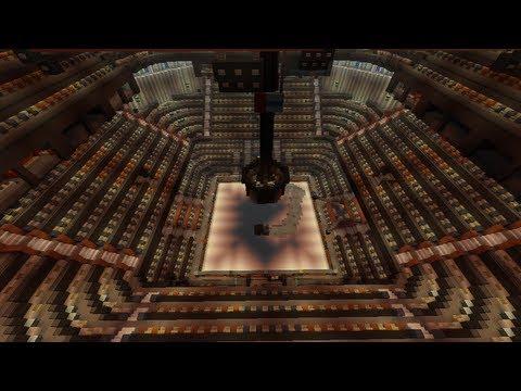 Madison Square Garden in Minecraft! (1,982 seat Spleef Stadium)