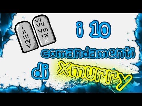I 10 comandamenti di xMurry - Come avere successo su YouTube