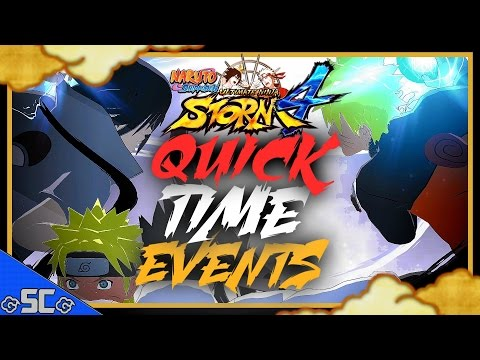 NARUTO STORM 4 | ALL QUICK TIME EVENTS! (QTE) (ENG) 【1080p 60FPS】