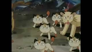 Team rocket go west young meowth