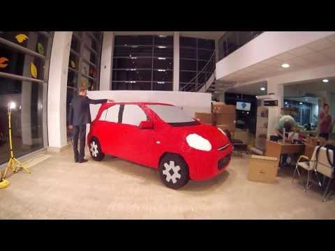 Nissan Micra из конструктора LEGO
