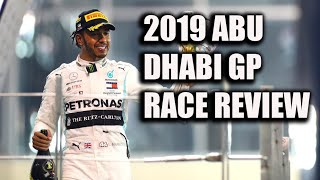 2019 Abu Dhabi Grand Prix Race Review