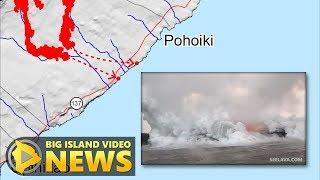 Hawaii Volcano Eruption Update - Sunday Noon (May 20, 2018)