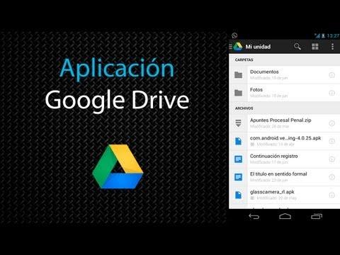 [Aplicación] Google Drive (i/o 2013)