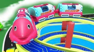 Trains for Kids - Thomas The Train - Choo choo Train - Toy Factory - Cartoons for Kids - Toy Trains