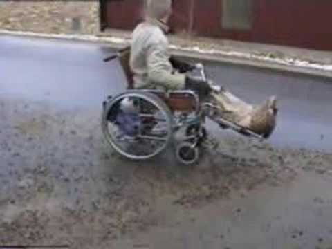 WheelChair With HONDA 4-Stroke 165cc