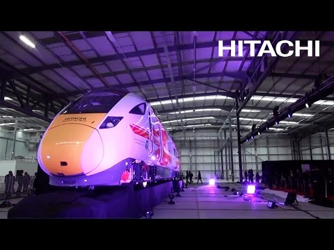 The Opening Ceremony at the Rail Vehicle Manufacturing Facility in the UK - Hitachi