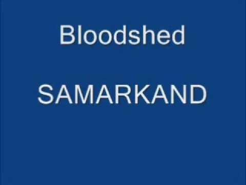 bloodshed-samarkand (lirik)