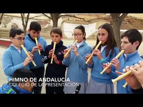 Himno de Andalucía celebrando el 28 de Febrero