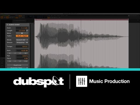 Bitwig Studio Tutorial Pt. 3 - Editing Audio Clips w/ James Bernard