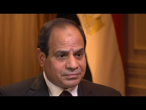 Egyptian President el-Sisi backs U.S. attacks on ISIS