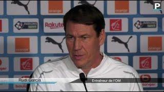 """OM-Saint-Étienne - Garcia : """"On veut absolument récupérer notre quatrième place"""""""