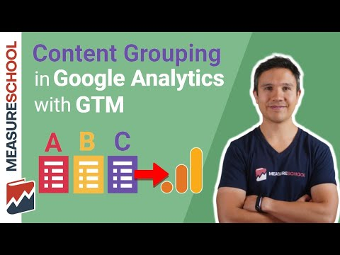 Google Tag Manager Content Grouping Setup in Google Analytics