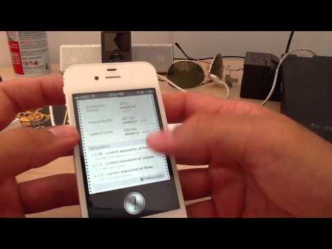 iPhone 4S Siri demonstration uncut Music Videos