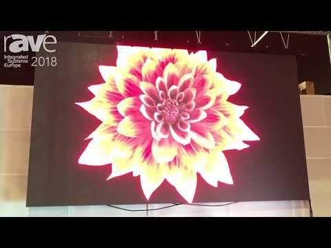 ISE 2018: Kingaurora Exhibits P4.8 LED Display for Rental Applications