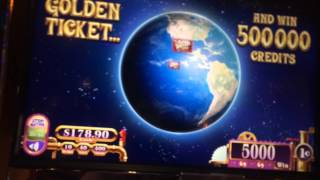 Willy Wonka Slot Machine Bonus - Mike Tevee Gobstopper Pick