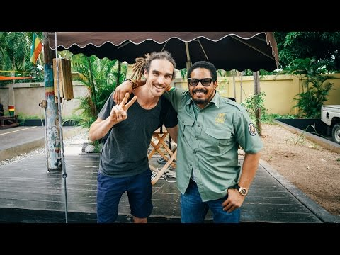 MEETING BOB MARLEY'S SON!!