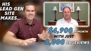 Success Story: Eric is making $4,900/month from a site with 8k pageviews