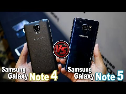 Samsung Galaxy Note 5 vs Galaxy Note 4 | Comparativa | ¿Merece la pena cambiar?