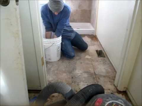 How to prep tiny house trailer for sub floor - How to replace subfloor in bathroom ...