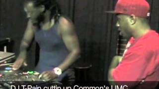 DJ T Pain scratching & cutting