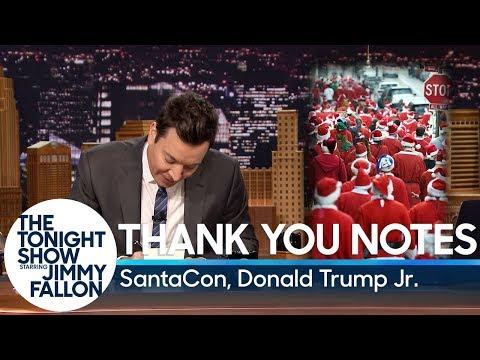 download lagu Thank You Notes: Santacon, Donald Trump Jr. gratis