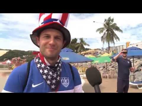 Blitztor & John Brooks retten Jürgen Klinsmann | Ghana - USA 1:2 | FIFA WM 2014 Brasilien