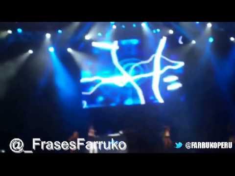 Farruko En Vivo   Tributo a Hector 'El Father'  Tiempos  @ Festival CHIM PUM CALLAO 2013
