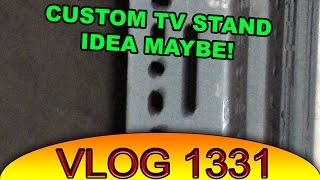 Planning to build a tv stand