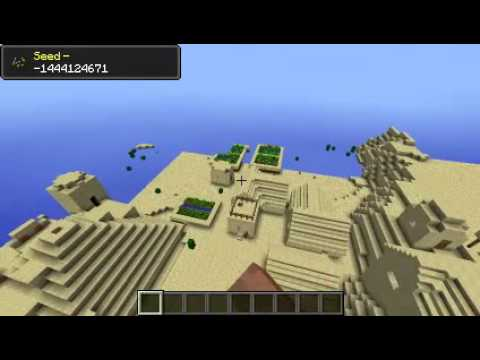 Minecraft 1.6.4 Seed Spotlight #14 - DIAMONDS, VILLAGE, TEMPLE AT SPAWN!
