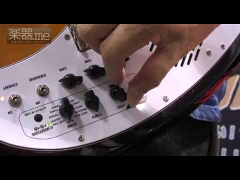 【速報・2011楽器フェア】VOX「APACHEシリーズ」