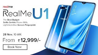 RealMe U1 : Price, Specifications, Release Date in INDIA !