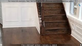 Priced at $250,000 - 7729 S Eberhart Avenue, CHICAGO, IL 60619