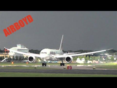 Qatar Boeing 787 Dreamliner Farnborough