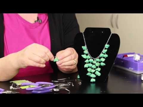 Step-by-Step Directions for Making Stone Necklaces : DIY Jewelry & Necklaces