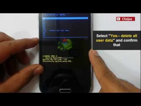 How To Hard Reset Samsung Galaxy Grand Neo. GT-I9060. GT-I9062