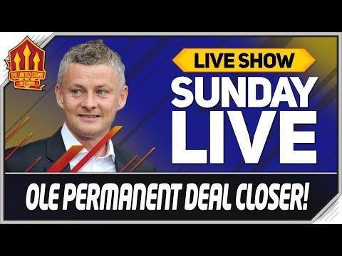 Solskjaer Close to Man Utd Job Offer? Man Utd News