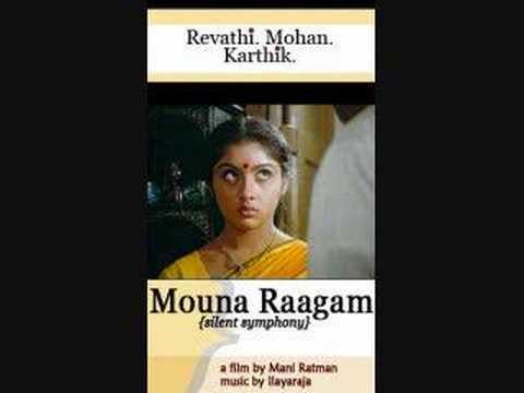 Mouna Ragam Theme Music video