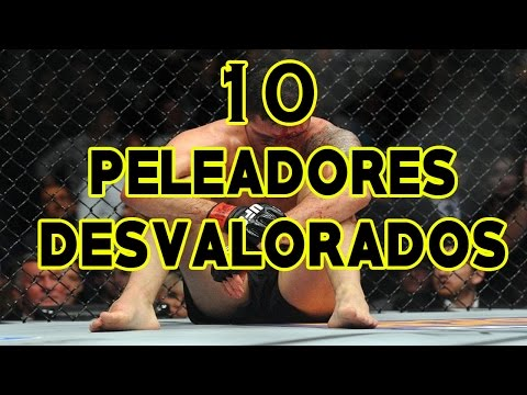 LOS 10 PELEADORES MAS DESVALORADOS