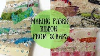 Making Fabric Trim from Scraps