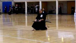 Me, 2010 Iaido Shinsa (examination), San Antonio, Texas