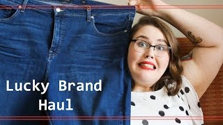 Lucky Brand Plus Size Haul