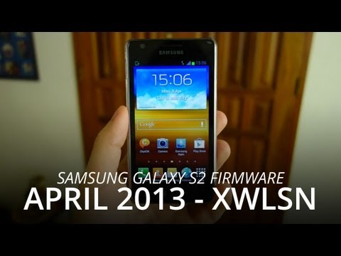 Samsung Galaxy S2 i9100 Jelly Bean 4.1.2 (XWLSN) Nordic Firmware - April 2013