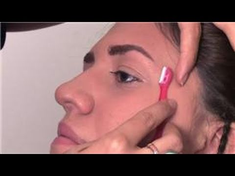 Tips From a Makeup Artist : How to Use an Eyebrow Shaver